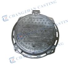 CZ-1101C   C250 ductile iron manhole cover with lock